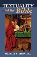 Textuality and the Bible eBook