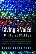 Giving a Voice to the Voiceless Paperback