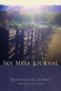 Sky Mesa Journal Paperback