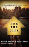 For the City (Unabridged, 5 CDS) (Exponential Audio Series) CD