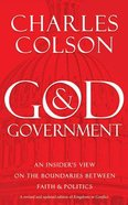 God and Government (Unabridged, 14 Cds) CD