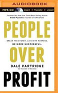 People Over Profit (Unabridged, Mp3) CD