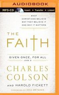 The Faith (Unabridged, Mp3) CD