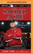 The Sacred Acre (Unabridged, Mp3) CD