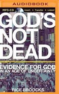 God's Not Dead (Unabridged, Mp3) CD