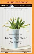 Encouragement For Today (Mp3, Unabridged) CD
