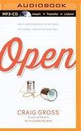 Open (Unabridged, Mp3) CD