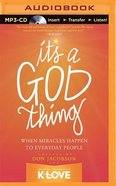 It's a God Thing (Unabridged, Mp3) CD