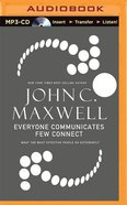 Everyone Communicates, Few Connect (Abridged, Mp3) CD