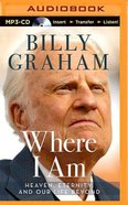 Where I Am (Unabridged, Mp3) CD