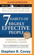 The 7 Habits of Highly Effective People (Unabridged, Mp3) CD