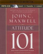 Attitude 101 (Unabridged, Mp3) CD