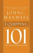 Equipping 101 (Unabridged, 2 Cds) CD