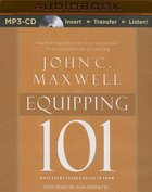 Equipping 101 (Unabridged, Mp3) CD