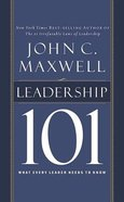 Leadership 101 (Unabridged, 2 Cds) CD