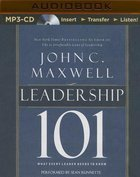 Leadership 101 (Unabridged, Mp3) CD