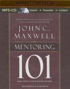Mentoring 101 (Unabridged, Mp3)