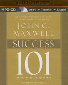 Success 101 (Unabridged, Mp3) CD