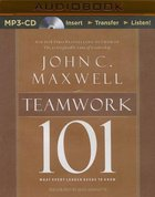 Teamwork 101 (Unabridged, Mp3) CD