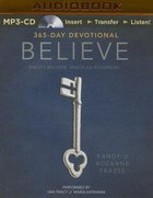 Believe Devotional (Unabridged, Mp3) CD