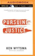 Pursuing Justice (Unabridged, Mp3) CD
