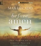 Before Amen (Unabridged, 2 Cds)