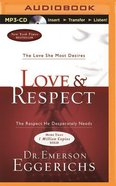 Love & Respect (Unabridged, Mp3) CD