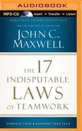 The 17 Indisputable Laws of Teamwork (Unabridged, Mp3) CD