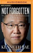 Not Forgotten (Unabridged, Mp3) CD