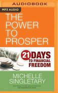 Power to Prosper (Unabridged, Mp3) CD