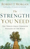 The Strength You Need (Unabridged, 5 Cds) CD