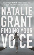 Finding Your Voice (Unabridged, 6 Cds)