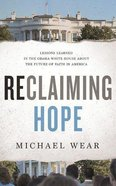 Reclaiming Hope (Unabridged, 6 Cds) CD
