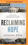Reclaiming Hope (Unabridged, Mp3) CD