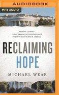 Reclaiming Hope (Unabridged, Mp3) CD