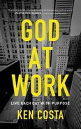 God At Work (Unabridged, 8 Cds) CD
