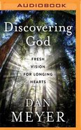 Discovering God (Unabridged, Mp3) CD
