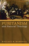 Puritanism and Natural Theology eBook