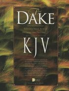 KJV Dake's Annotated Bible Burgundy