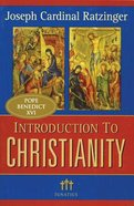 Introduction to Christianity Paperback