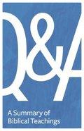 Q & a Paperback