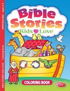 Bible Stories Kids Love (Ages 2-4, Reproducible) (Warner Press Colouring/activity Under 5's Series)