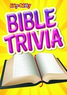 Activity Book Bible Trivia (Itty Bitty Bible Series) Paperback