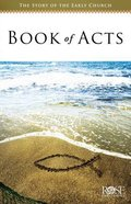 The Book of Acts  (5 Pack) (Rose Guide Series)