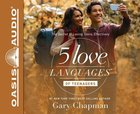 The 5 Love Languages of Teenagers (Unabridged, 4 Cds) CD