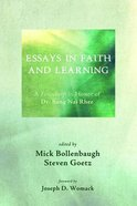 Essays in Faith and Learning Paperback