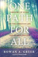 One Path For All Paperback
