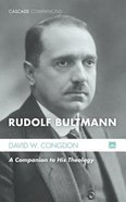 Rudolf Bultmann Paperback