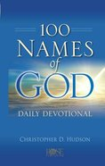 100 Names of God Daily Devotional Hardback