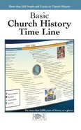 Basic Church History Time Line (Rose Guide Series) Pamphlet